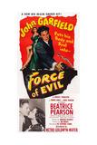 Force of Evil  John Garfield  Beatrice Pearson  1948