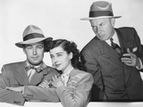 Salty O'Rourke  from Left: Alan Ladd  Gail Russell  William Demarest  1945