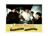 The Magnificent Ambersons  from Left  Dolores Costello  Joseph Cotten  Ray Collins  1942