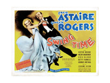 Swing Time  from Left  Ginger Rogers  Fred Astaire  1936