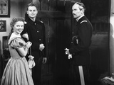 Fort Apache  from Left  Shirley Temple  John Agar  Henry Fonda  1948