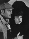 The Adventures of Sherlock Holmes  from Left: Basil Rathbone  Ida Lupino  1939