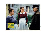 How Green Was My Valley  from Left  Sara Allgood  Maureen O'Hara  Donald Crisp  1941