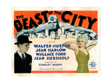The Beast of the City  from Left  Walter Huston  Jean Harlow  1932