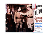 Shanghai Express  from Left  Marlene Dietrich  Warner Oland  Clive Brook  1932