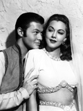 Ali Baba and the Forty Thieves  from Left: Turhan Bey  Maria Montez  1944