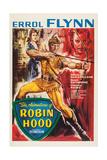 The Adventures of Robin Hood  from Left: Olivia De Havilland  Errol Flynn  Basil Rathbone  1938