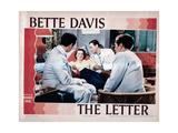 The Letter  from Left  Center  Bette Davis  Herbert Marshall  1940