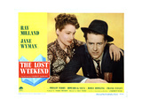 The Lost Weekend  from Left  Doris Dowling  Ray Milland  1945