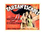 Tarzan Escapes  from Left: Johnny Weissmuller  Maureen O'Sullivan  1936