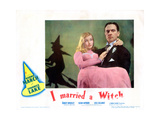 I Married a Witch  from Left: Veronica Lake  Fredric March  1942