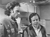 Silent Running  from Left: Bruce Dern  Director Douglas Trumbull on Set  1972