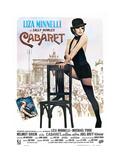 Cabaret  Italian Poster  Liza Minnelli  Inset Photo: Michael York  Liza Minnelli  1972