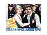 The Prizefighter and the Lady  from Left  Myrna Loy  Walter Huston  1933