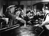 Horse Feathers  Harpo Marx  Groucho Marx  Chico Marx  Vince Barnett  1932  Ordering at the Bar