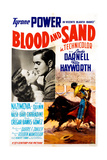 Blood and Sand  from Left  Rita Hayworth  Tyrone Power  1941
