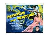 Frankenstein Meets the Wolf Man  Ilona Massey  Maria Ouspenskaya  1943