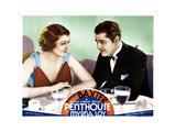 Penthouse  from Left  Myrna Loy  Warner Baxter  1933