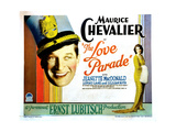 The Love Parade  from Left  Maurice Chevalier  Jeanette Macdonald  1929