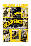 Scarface  Paul Muni  Various Poster Selections  1932