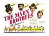 Animal Crackers  the Marx Brothers-Top L-R: Harpo Marx  Groucho Marx  Chico Marx  Zeppo Marx  1930