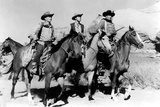 The Searchers  Harry Carey  Jr  Jeffrey Hunter  John Wayne  1956