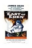 East of Eden  US Poster Art  from Left: James Dean  Julie Harris  1955