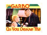 As You Desire Me  from Left: Greta Garbo  Erich Von Stroheim  1932