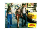 Taxi Driver  from Left  Garth Avery  Jodie Foster  Robert De Niro  1976