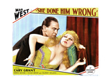 She Done Him Wrong  from Left  Owen Moore  Mae West  1933