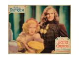 The Scarlet Empress  from Left  Marlene Dietrich  John Lodge  1934