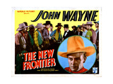 The New Frontier  John Wayne  1935