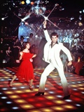 Saturday Night Fever  from Left: Karen Lynn Gorney  John Travolta  1977