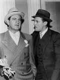 The Untouchables  from Left: Bruce Gordon  Robert Stack  1959-1963