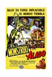 The Deadly Mantis  (AKA El Monstruo Alado)  1957