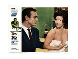Dr No  from Left  Sean Connery  Zena Marshall  1962