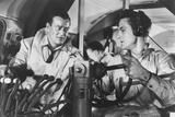 The High and the Mighty  from Left: John Wayne  Robert Stack  1954