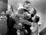 It's a Wonderful Life  Larry Simms  Jimmy Hawkins  James Stewart  Donna Reed  Karolyn Grimes  1946