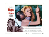 Belle De Jour  from Left  Michel Piccoli  Catherine Deneuve  1967