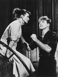 The Rainmaker  from Left: Katharine Hepburn  Burt Lancaster  1956