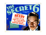 The Secret Six  Wallace Beery  1931