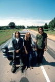 Two-Lane Blacktop  from Left: Dennis Wilson  Laurie Bird  James Taylor  1971