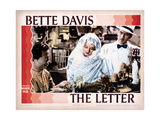 The Letter  Center and Right  Bette Davis  James Stephenson  1940