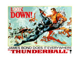 Thunderball  Sean Connery  (Poster Art)  1965