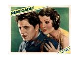 Renegades  from Left  Warner Baxter  Myrna Loy  1930