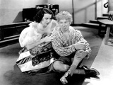 A Night at the Opera  from Left  Kitty Carlisle  Harpo Marx  1935