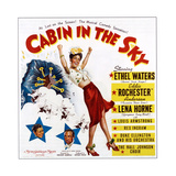 Cabin in the Sky  from Bottom Left: Ethel Waters  Eddie 'Rochester' Anderson  Lena Horne  1943
