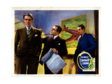 Things to Come  from Left  Derrick De Marney  Edward Chapman  Raymond Massey  1936