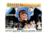 Dracula Has Risen from the Grave  (Poster Art)  Christopher Lee  1968