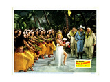 Song of the Islands  Center: Betty Grable  Thomas Mitchell  Jack Oakie  1942